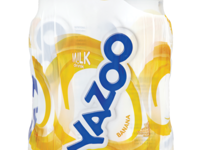 Yazoo Banana Milk Drink 4 x 200ml  800ml