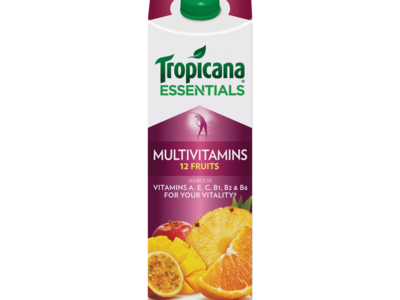 Tropicana Essentials Multivitamins 12 Fruits 850ml