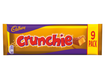 Cadbury Crunchie 9 Pack 235g