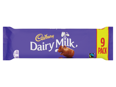 Cadbury Dairy Milk Chocolate Bar 9 Pack 292.5g