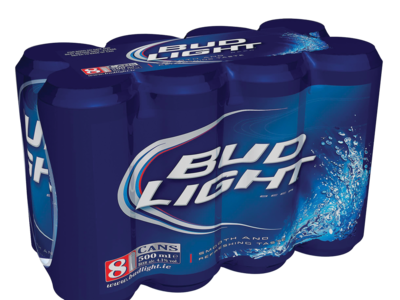 Bud light 8 x 500ml
