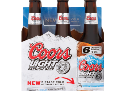 CoorsLight bottlePack 6x330ml
