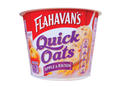Flahavans quickOats appleRaisin