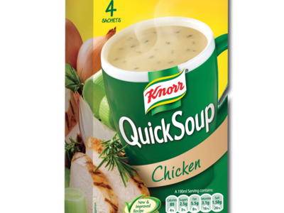 Knorr quickSoup chicken 4pk