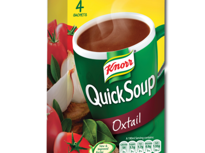 Knorr quickSoup oxtail 4pk