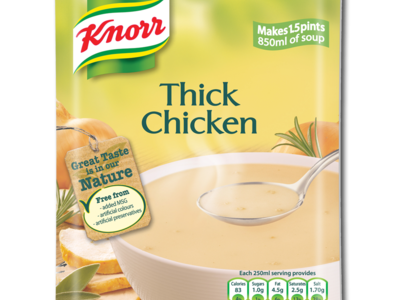 Knorr simmerSoup chicken