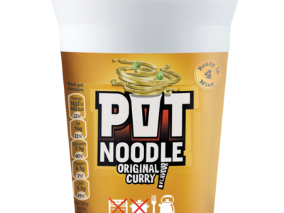 PotNoodle curry 90g