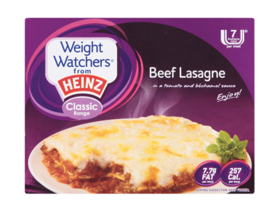 WeightWatchers beefLasagne