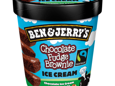 Ben Jerrys Chocolate Fudge Brownie Ice Cream 500ml