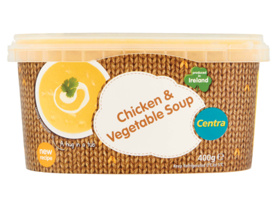 Centra Chicken Vegetable Soup 400g