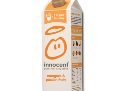 InnocentSmoothies mangoPassionFruit 750ml