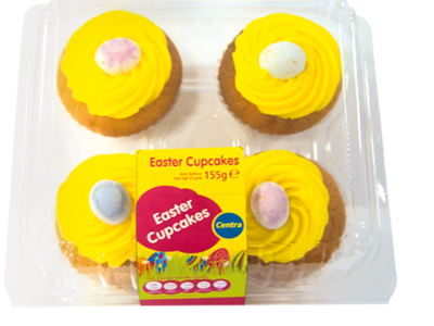 CT OB Easter Cupcakes