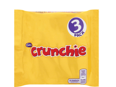 Cadbury Crunchie 3pk