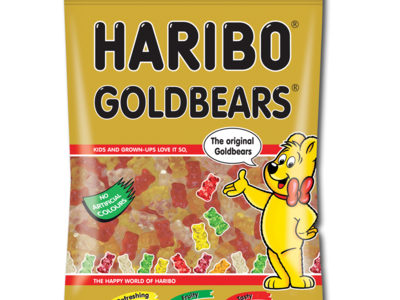 Haribo goldBears hangingBag