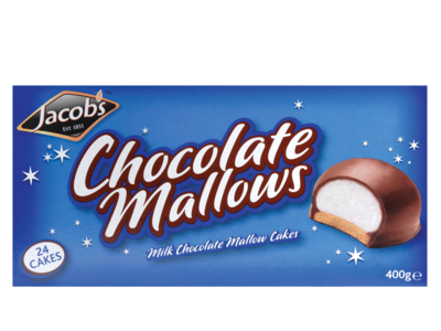Jacobs chocolateMallows 400g
