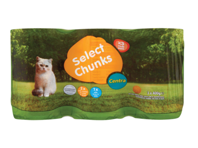 CT catFood canPack 3x400g