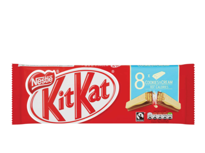 Nestle kitKat cookiesCream 8pk