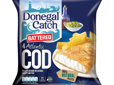 Donegal Catch Battered Cod 450G
