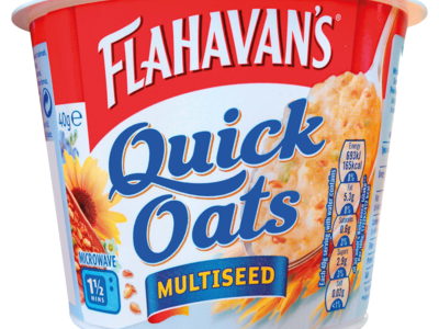 Flahavans Quick Oats Multi Seed Portable Porridge Pot 40g