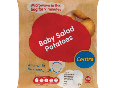 Centra Microwavable Baby Potatoes 650g