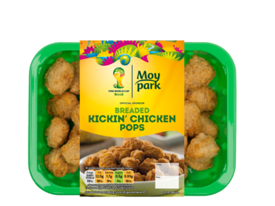 Moy Park Breaded Kickin Chicken Pops