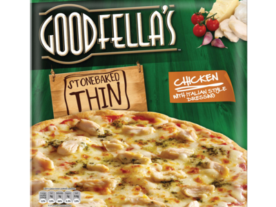 Goodfellas stoneBakedThin chicken 365g