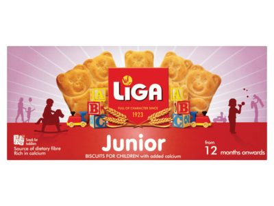 LiGA Junior Biscuits from 12 Months Onwards 175g