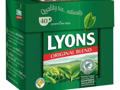 Lyons Original Tea Bags 40s