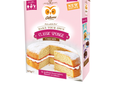 Odlums BYO Cake Classic Sponge Pack
