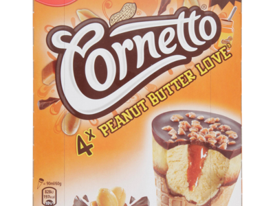 Cornetto Peanut Butter Love 4 x 360ml