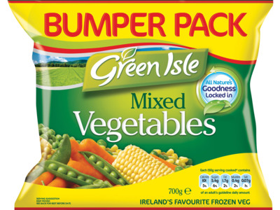 Green Isle Mixed Vegetables 700g