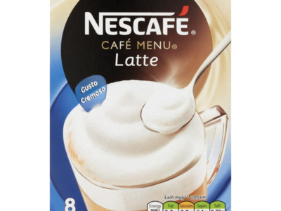 Nescafe Cafe Menu Latte
