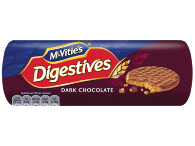 Mcvities digestive dark chocolate