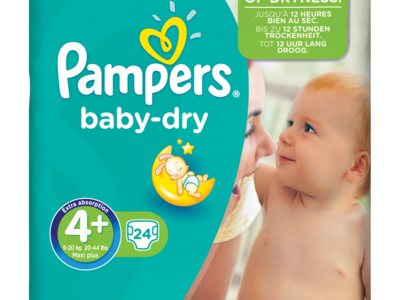 Pampers baby dry 24pack