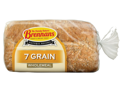 Brennans Natural Recipe Wholemeal with 7 Grains 500g