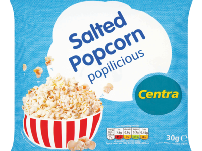 Centra Salted Popcorn 30g