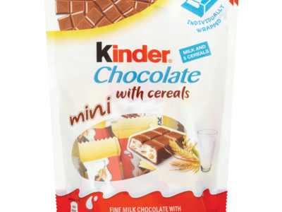 Kinder Chocolate with Mini Cereals 95g