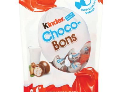 Kinder Milk and Hazelnut Choco Bons 104g