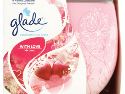 Glade Candle with Love My Love 120g