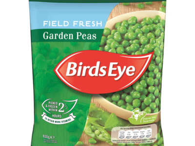 Birds Eye Field Fresh Garden Peas 400g