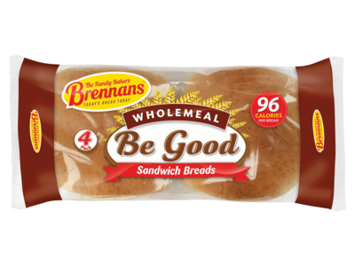 Brennan s   Be Good Brown Breads 160g