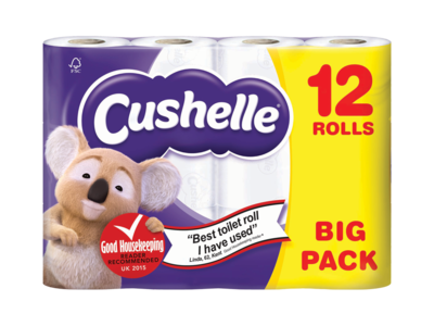 Cushelle 12 Roll White