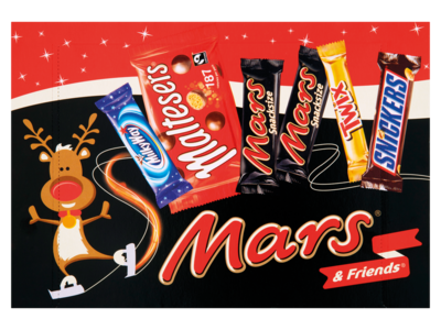 Mars   Friends Christmas Selection Box 181g