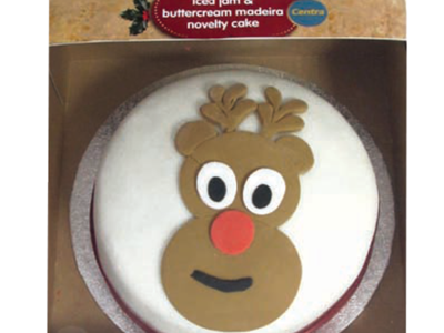CT REINDEER NOVELTY CAKE
