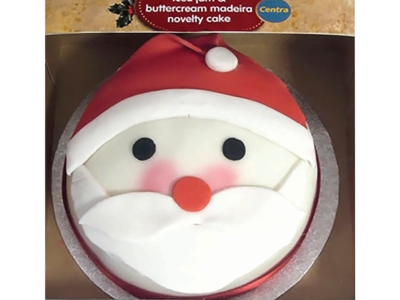 CT SANTA NOVELTY CAKE