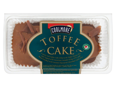 Coolmore Toffee Cake 400g