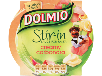 DOLMIO  Stir in Sauce for Pasta Creamy Carbonara 1