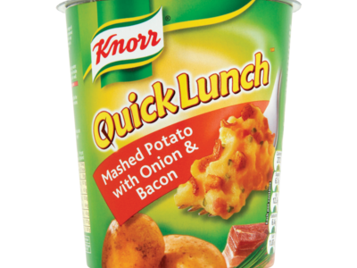 Knorr Quick Lunch Mash Potato with Onion   Bacon 62g