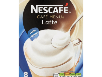 Nescafe Cafe Menu Latte 1