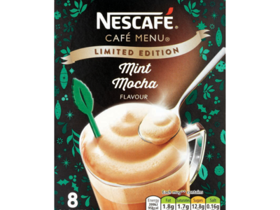 Nescafe Cafe Menu Mint Mocha